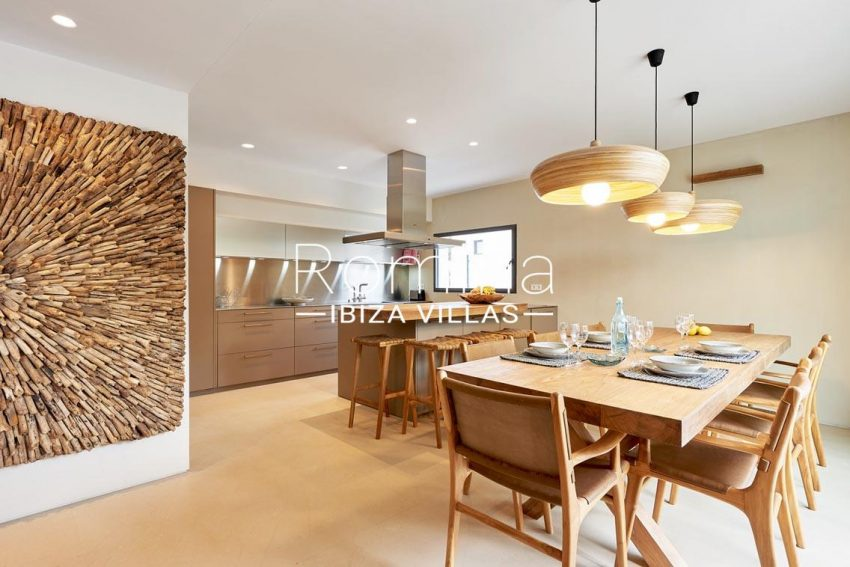 villa vetiver ibiza-3zdining room kitchen