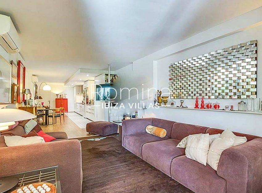 apto izzy ibiza-3living room dining room kitchen