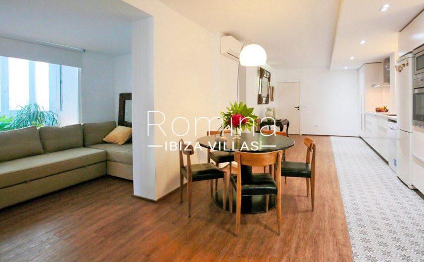 apto izzy ibiza-3zkitchen dining area sitting aroom
