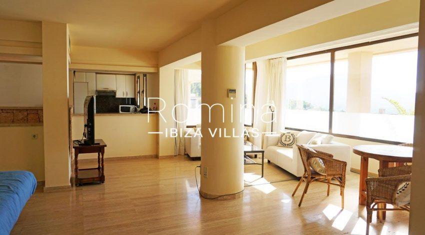 loft vedra ibiza-3living dining room bedroom