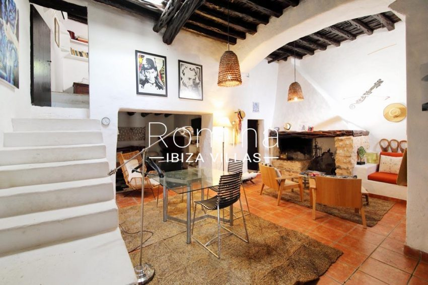 romina-ibiza-villas-rv695-can-joan-mari-3living room fireplace