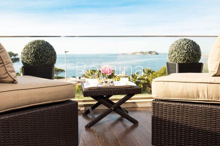 romina-ibiza-villas-rv701-adosado-bora-1terrace bedroom1 sea view