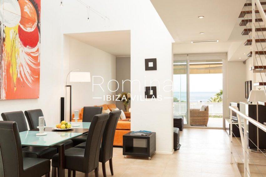 romina-ibiza-villas-rv701-adosado-bora-3living dining room sea view