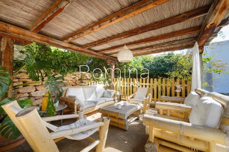 romina-ibiza-villas-rv-731-can-galia-2pergola terrace sitting area