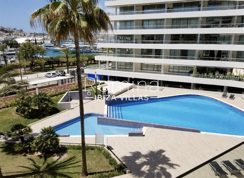 romina-ibiza-villas-rv734-apto-miramar-paseo1-1pool sea view