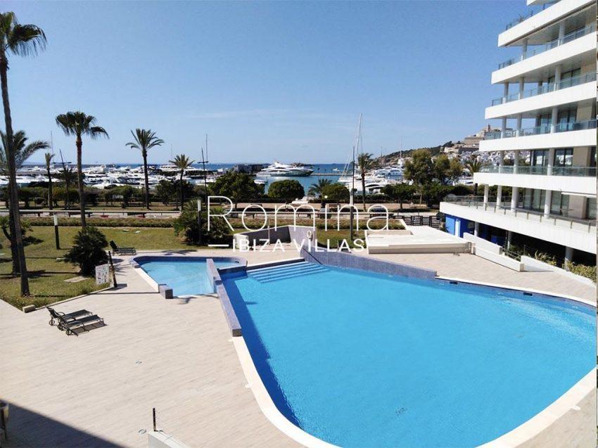 romina-ibiza-villas-rv735-apto-miramar-paseo 2-1pool sea view