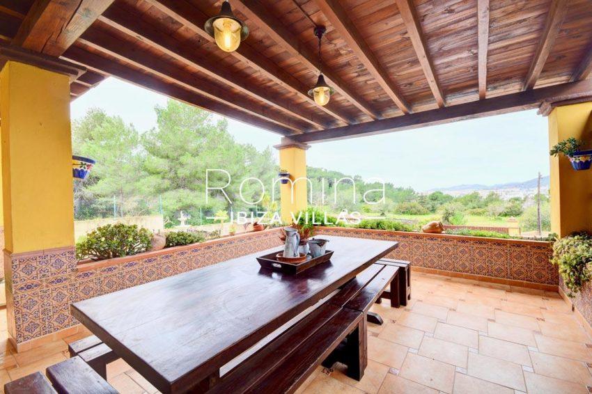 villa eva ibiza-1terrace view hills