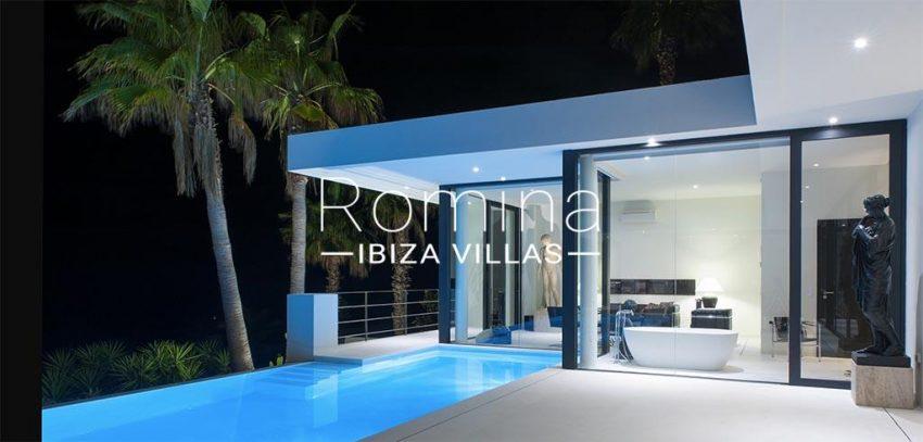 romina-ibiza-villas- rv-753-27-villa-atenea-2pool terrace by night