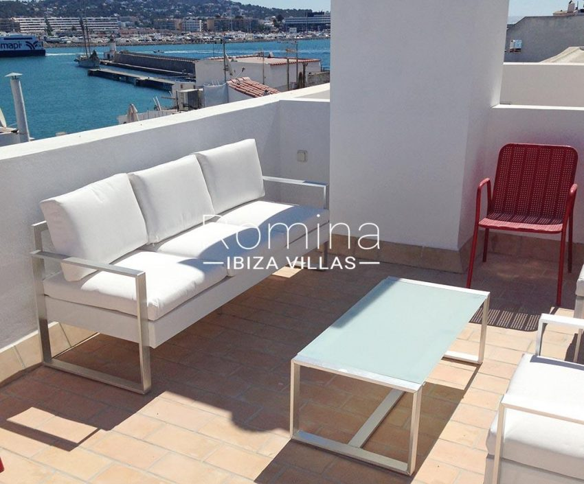 romina-ibiza-villas-rv-809-61-duplex-24-marina-1terrace sitting area sea view