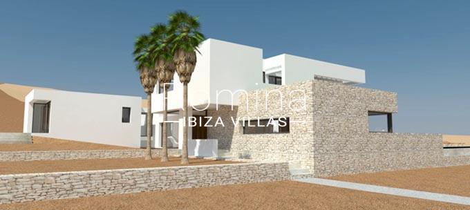 romina-ibiza-villas-rv814-proyecto-can-vinya-2facad porche render