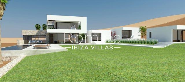 romina-ibiza-villas-rv814-proyecto-can-vinya-2facade render