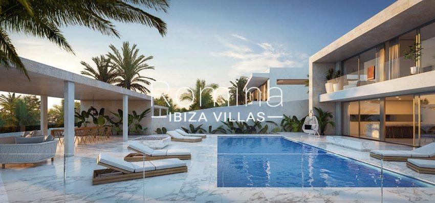 romina-ibiza-villas-rv-815-71-proyecto-cap-martinet-2pool facade