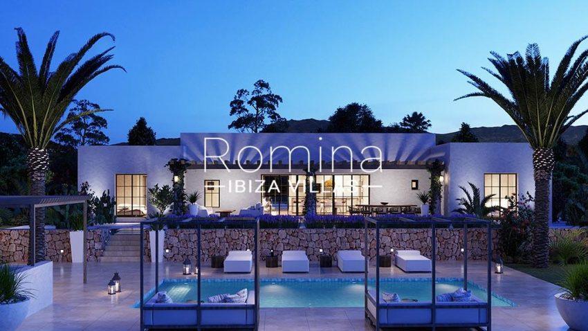 romina-ibiza-villas-rv-816-71-proyeco-casa-maj-2pool facade by night