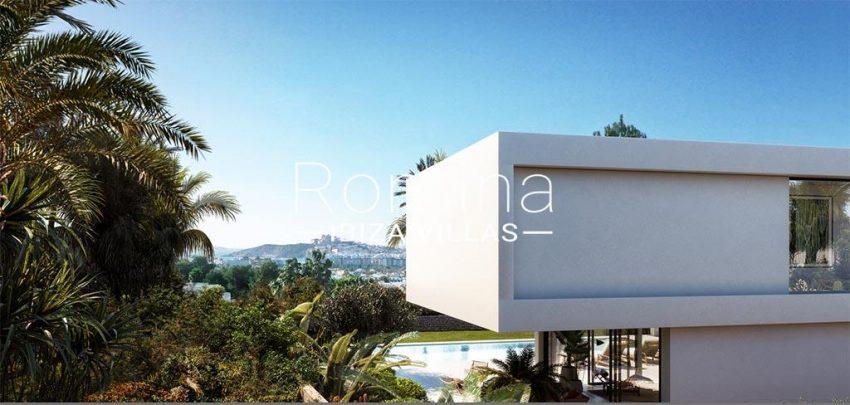 romina-ibiza-villas-rv-817-71-proyecto-villa-la-brise-1rear facade view dalt vila