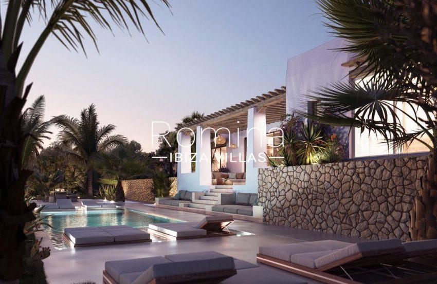 romina-ibiza-villas-rv-896-71-proyecto-villa-jacaranda-2pool facade porch