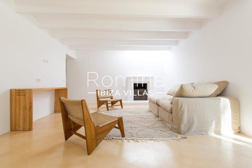 romina-ibiza-villas-rv-916-33-villa-es-paradis-3living room fireplace main house2
