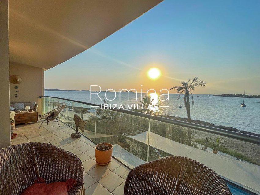 romina-ibiza-villas-rv-933-57-apto-calo-mar-1terrace sea viewsunset